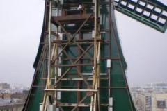 Крышная установка. Старый мельник