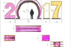 Разработка проектной документации для праздничного оформления г. Москвы