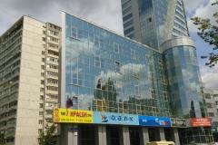 Проекты крышных установок для ТЦ «Статус» по адресу: МО, г. Королев, пр-кт Королева д. 5д . Фото здания торгового центра.
