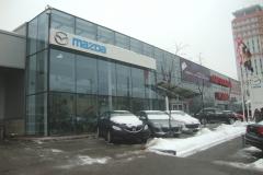 Вывеска Mazda. Автоцентр РОЛЬФ