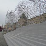 Проведение поверочного расчета деревянной лестницы на строительных лесах по адресу: Москва, Красная площадь (перед ГУМом)